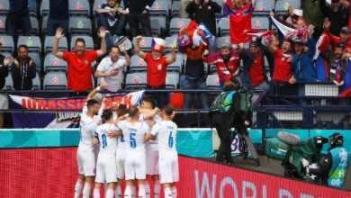 نتيجة مباراة اسكتلندا والتشيك فى بطولة يورو 2020 (صور:AFP)