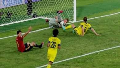 يورو 2020   شاهد فيديو ملخص مباراة اسبانيا والسويد (صور:AFP)