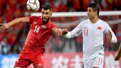 موعد مباراة سوريا والصين فى تصفيات كأس العالم 2022 والقنوات الناقلة (صور:twitter)