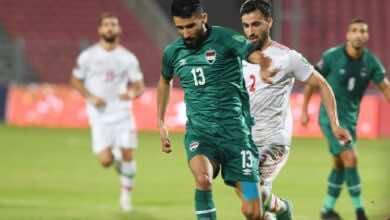 شاهد فيديو اهداف مباراة العراق وإيران فى تصفيات كأس العالم 2022 (صور:twitter)