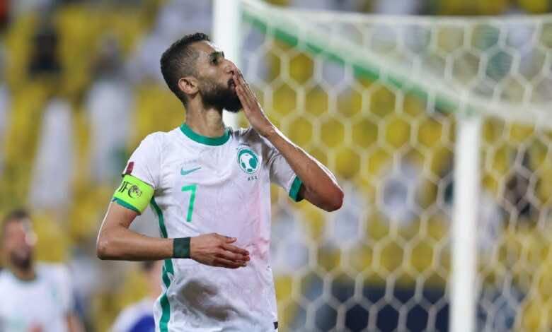 تصفيات كأس العالم 2022 | السعودية تحسم الصدارة بعد اكتساح أوزبكستان (صور:twitter)