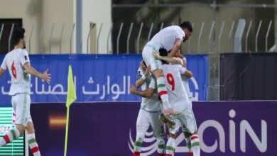 تصفيات كأس العالم 2022 | إيران تقتنص بطاقة التأهل من العراق (صور:twitter)