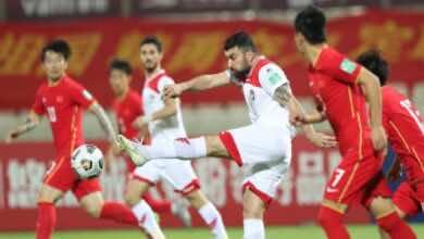 شاهد فيديو اهداف مباراة سوريا والصين فى تصفيات كأس العالم 2022 (صور:twitter)