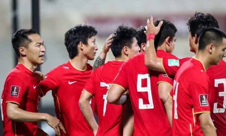 تصفيات كأس العالم 2022 | سوريا تتأهل فى الصدارة رغم الخسارة من الصين (صور:twitter)