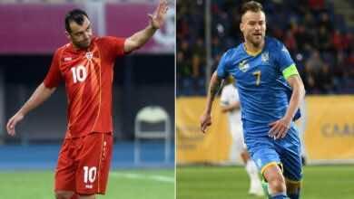 موعد مباراة أوكرانيا ومقدونيا الشمالية فى يورو 2020 والقنوات الناقلة (صور:AFP)