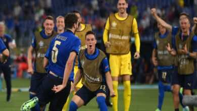 نتيجة مباراة ايطاليا وسويسرا فى يورو 2020.. لوكاتيلي يتقدم للآزوري (صور:twitter)