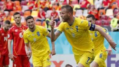 يورو 2020 | أوكرانيا تنعش آمالها بالفوز على مقدونيا الشمالية