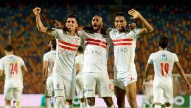 الزمالك يكتسح أسوان في عودة الدوري المصري بعد غياب طويل (صور:twitter)