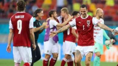 يورو 2020   النمسا تُقصي أوكرانيا وتتأهل للمرة الأولي فى تاريخها الى ثمن النهائي (صور:AFP)