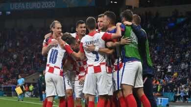 نتيجة مباراة كرواتيا واسكتلندا في يورو 2020..وصيف العالم يقتل القلوب الشجاعة (صور:AFP)
