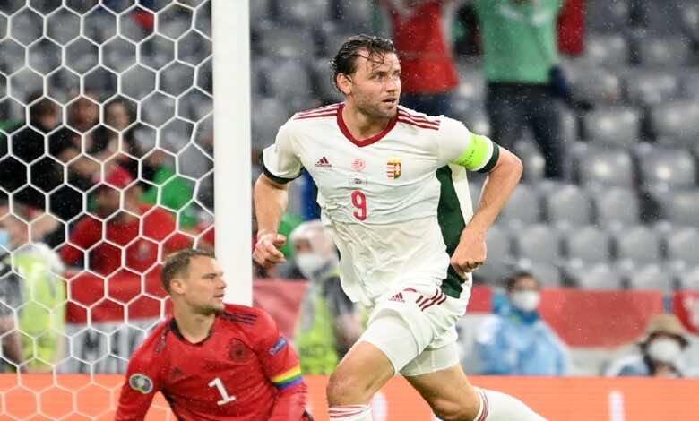 نتيجة مباراة المانيا والمجر في بطولة يورو 2020 (twitter)