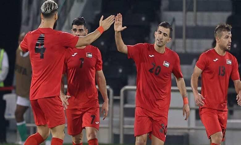 نتيجة مباراة فلسطين وجزر القمر في تصفيات كأس العرب 2021 (صور:AFP)