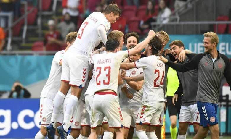 بطولة يورو 2020 | الدنمارك تتأهل لدور الثمانية بفوز كبير على ويلز (صور:AFP)