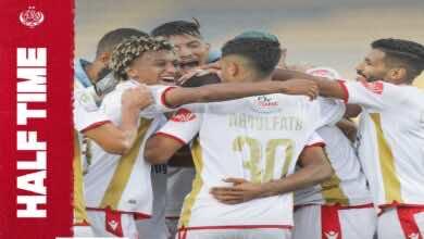 شاهد فيديو اهداف مباراة الوداد والمغرب التطواني في الدوري المغربي (صور:twitter)