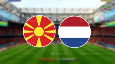 موعد مباراة هولندا ومقدونيا في بطولة يورو 2020 والقنوات الناقلة
