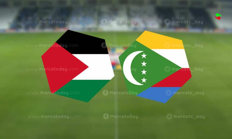 موعد مباراة فلسطين وجزر القمر في كأس العرب 2021..القنوات الناقلة والمعلق