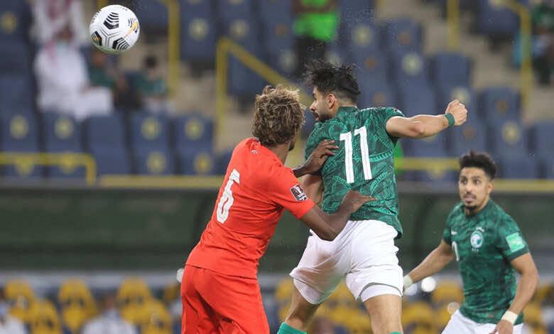 شاهد فيديو اهداف السعودية وسنغافورة في تصفيات كأس العالم 2022 «ثلاثية متأخرة»