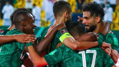 جدول ترتيب مجموعة السعودية في تصفيات كأس العالم 2022 بعد مباراة سنغافورة