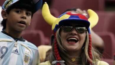 موعد مباراة الارجنتين وكولومبيا في تصفيات كأس العالم 2022 والقنوات الناقلة (الجولة 8)
