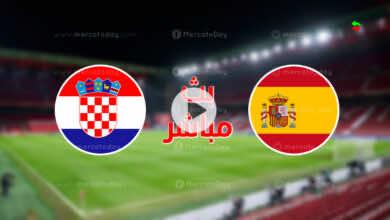 مشاهدة مباراة اسبانيا وكرواتيا في بث مباشر ببطولة يورو 2020