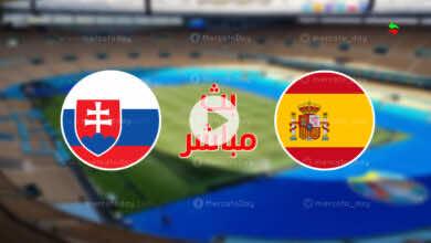 مشاهدة مباراة اسبانيا وسلوفاكيا في بث مباشر ببطولة يورو 2020