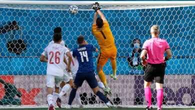 شاهد فيديو اهداف مباراة اسبانيا وسلوفاكيا في يورو 2020