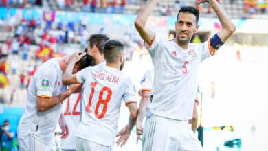 نتيجة مباراة اسبانيا وسلوفاكيا في يورو 2020.. إنريكي يُحيِى التيكي تاكا