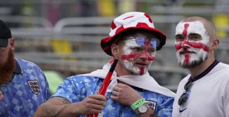 جمهور مباراة انجلترا واسكتلندا في يورو 2020 - صور Getty