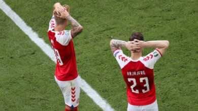 الآن   صدمة وبكاء بعد إغماء إريكسن لأكثر من 10 دقائق في مباراة الدنمارك وفنلندا