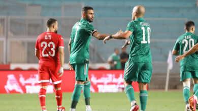 الجزائر تحطم رقم كوت ديفوار بالفوز على تونس في تحضيرات تصفيات مونديال 2022