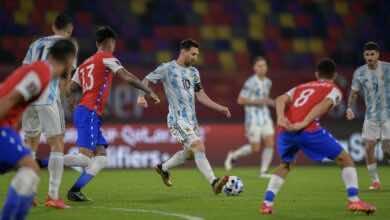 تصفيات كأس العالم 2022 | تشيلي تفرض التعادل على الارجنتين «الحظ يعاند ميسي»