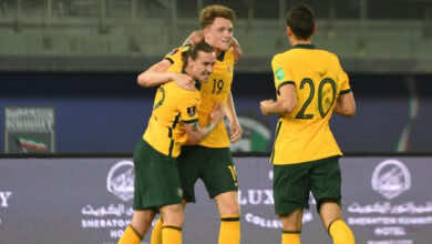 شاهد فيديو اهداف مباراة الاردن واستراليا في تصفيات كأس العالم 2022