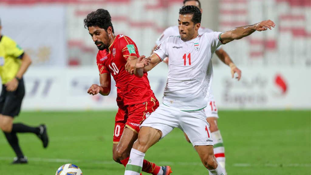 تصفيات كأس العالم 2022 | ايران تقسو على البحرين وتهدي الصدارة للعراق