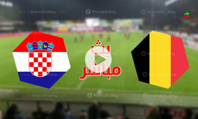 مشاهدة مباراة بلجيكا وكرواتيا في بث مباشر بتحضيرات يورو 2020