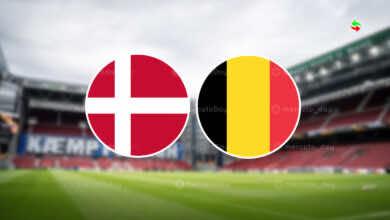 موعد مباراة بلجيكا والدنمارك في بطولة يورو 2020 والقنوات الناقلة