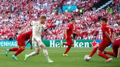 يورو 2020 | سحر دي بروين يقود بلجيكا لثمن النهائي بالفوز على الدنمارك