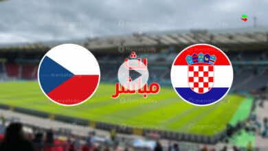 مشاهدة مباراة كرواتيا والتشيك في بث مباشر ببطولة يورو 2020