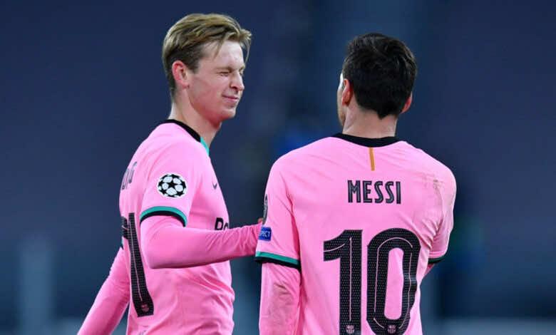 الميركاتو الصيفي 2021 | دي يونج يتغلب على ميسي ويصبح الأغلى في الدوري الاسباني!