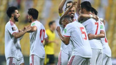 شاهد فيديو اهداف الامارات وتايلاند في تصفيات كأس العالم 2022 «الابيض يواصل التقدم»