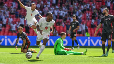 شاهد فيديو اهداف مباراة انجلترا وكرواتيا في يورو 2020 «ستيرلينج يدخل التاريخ»