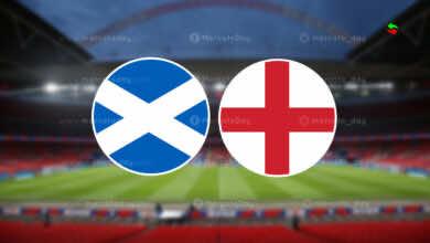 موعد مباراة انجلترا واسكتلندا اليوم في يورو 2020 والقنوات الناقلة