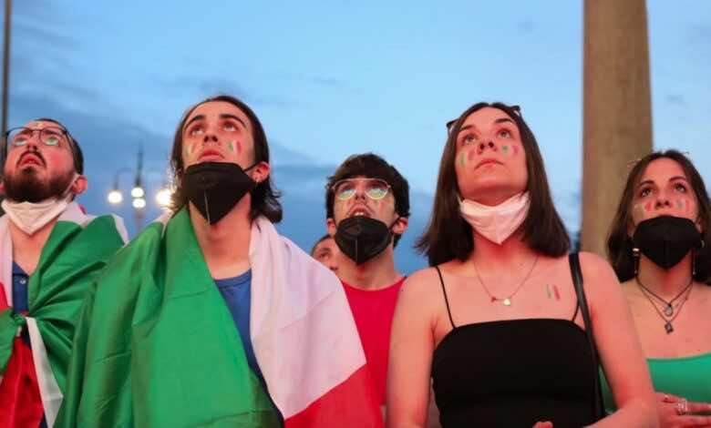 جمهور ايطاليا - موعد مباراة ايطاليا وسويسرا في يورو 2020 - دور المجموعات - القنوات الناقلة