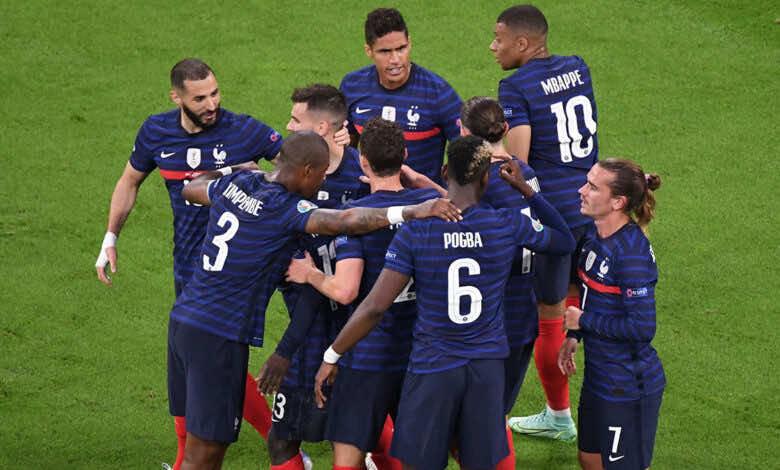 يورو 2020   فرنسا تكوي المانيا بنيران صديقة في القمة الأولى