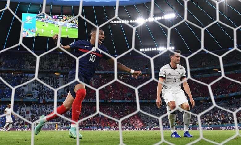 شاهد فيديو اهداف مباراة فرنسا والمانيا في يورو 2020..هوملز يعاقب لوف