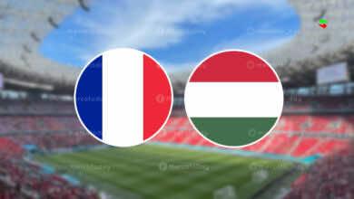 موعد مباراة فرنسا والمجر في يورو 2020..القنوات الناقلة والمعلق
