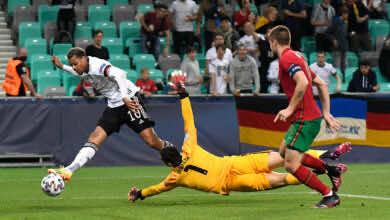 شاهد فيديو اهداف المانيا والبرتغال في نهائي يورو 2021 للشباب «نميشا يتوج المانشافت»