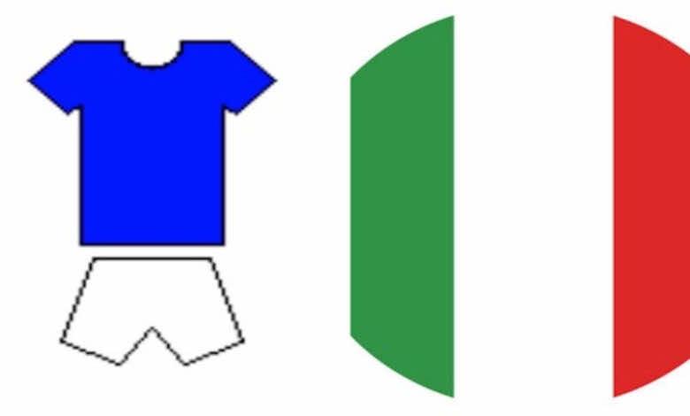 """يورو 2020   ماذا يعني لون قميص منتخب إيطاليا """"الآزوري""""؟ وما سر استبعاد علم البلاد؟"""