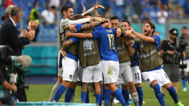 شاهد فيديو اهداف مباراة ايطاليا وويلز في يورو 2020.. بيسينا باللمسة السحرية