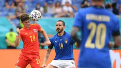 يورو 2020   بالعلامة الكاملة.. ايطاليا تصطحب ويلز إلى دور ثمن النهائي