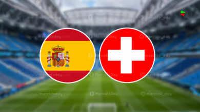 موعد مباراة اسبانيا وسويسرا في بطولة يورو 2020.. القنوات الناقلة والمعلق